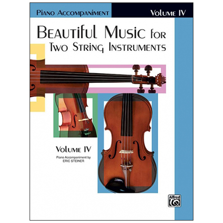 Applebaum, S.: Beautiful Music for two String Instruments Vol. 4 – Klavierbegleitung