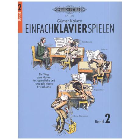 Kaluza, G.: Einfach Klavier spielen Band 2