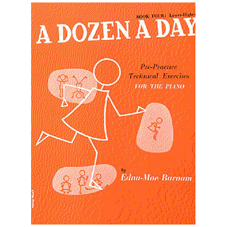 Burnam, E. M.: A Dozen A Day Book 4: Lower Higher
