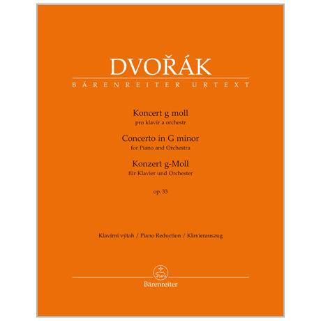 Dvořák, A.: Klavierkonzert Op. 33 B 63 g-Moll