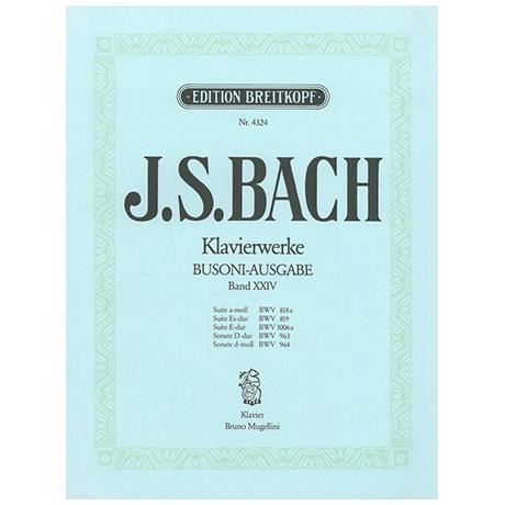 Bach, J.S.: Suiten und Sonaten