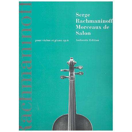 Rachmaninow, S.: Morceaux de salon Op.6