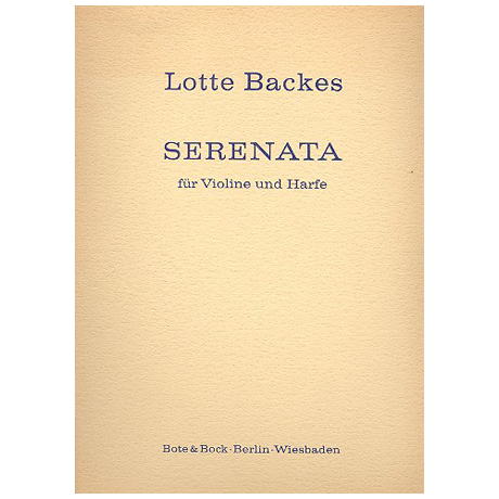 Backes, L.: Serenata