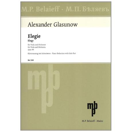 Glasunow, A.: Elegie Op. 44