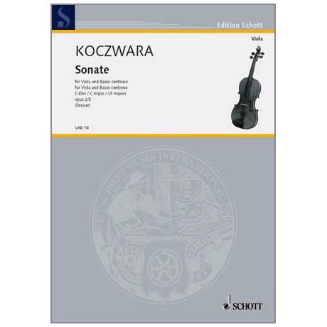Koczwara, F.: Violasonate Op. 2/2 C-Dur