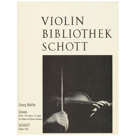 Muffat, G.: Sonate D-Dur