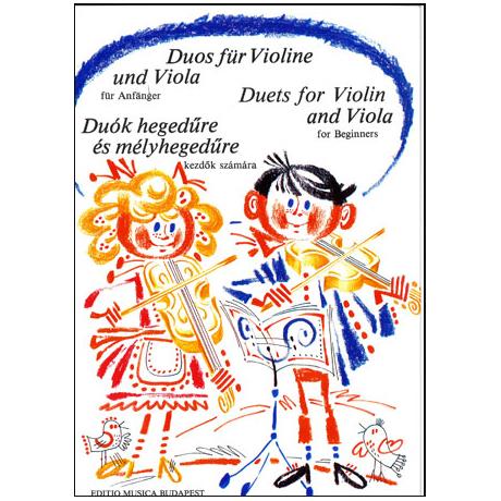 Vigh Lajos: Duos für Anfänger