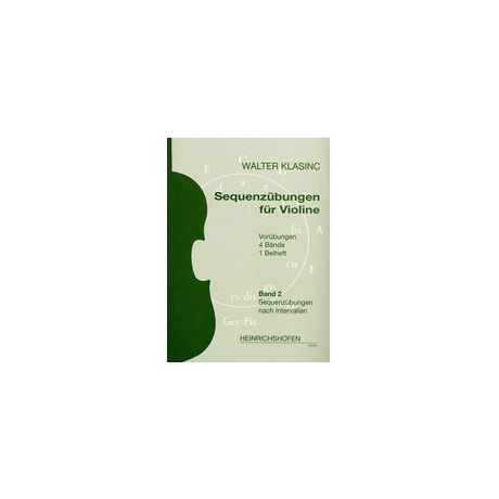 Klasinc, W.: Sequenzübungen Band 2