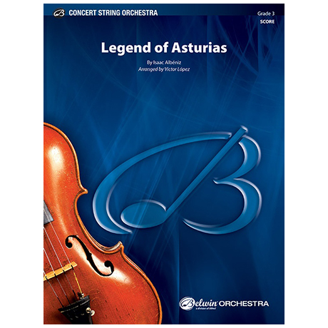 Albéniz, I.: Legend of Asturias – Partitur