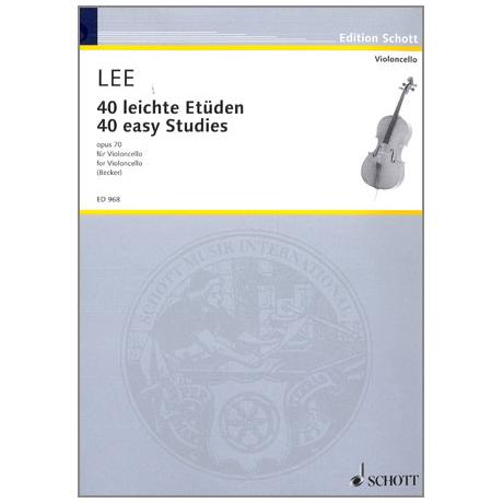 Lee, S.: 40 leichte Etüden Op.70