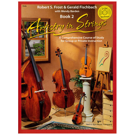 Frost/Fischbach: Artistry in Strings Band 2 (+2CDs)