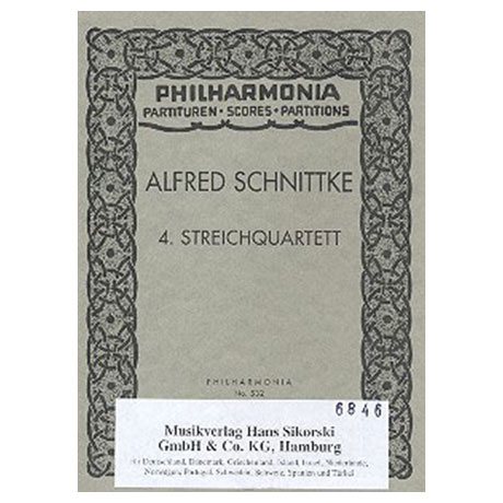 Schnittke, A.: Streichquartett Nr. 4