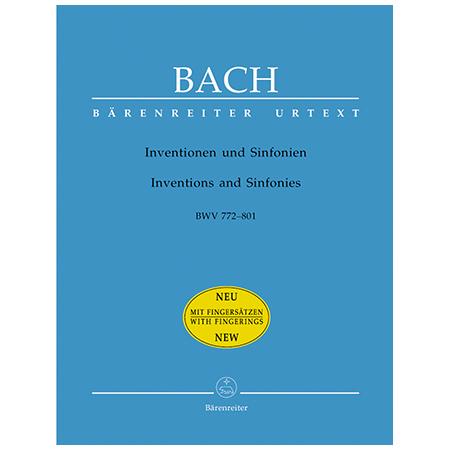 Bach, J. S.: Inventionen und Sinfonien BWV 772-801