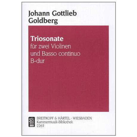 Goldberg, J. G.: Triosonate B-Dur