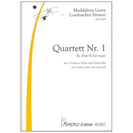Lombardini-Sirmen, M.L.: Quartett Nr. 1