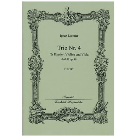 Lachner, I.: Trio Nr. 4 Op. 89 d-Moll
