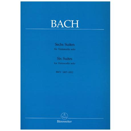 Bach: 6 Suiten BWV1007 - BWV1012