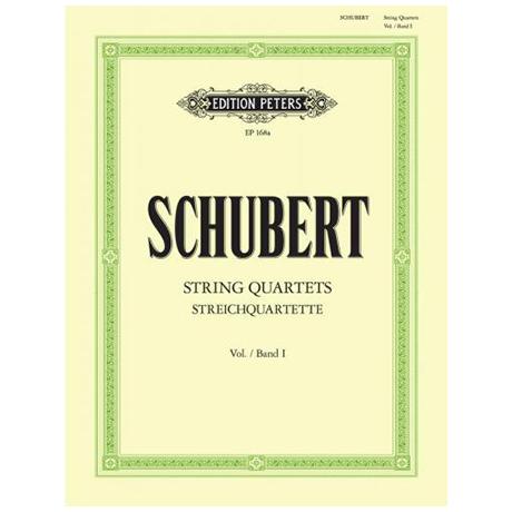 Schubert, F.: Streichquartette Band 1: a-moll D804, Es-Dur D87, E-Dur D353, d-moll D810