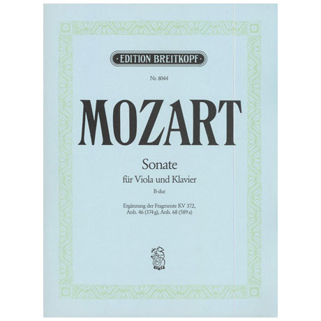 Mozart, W. A.: Violasonate B-Dur