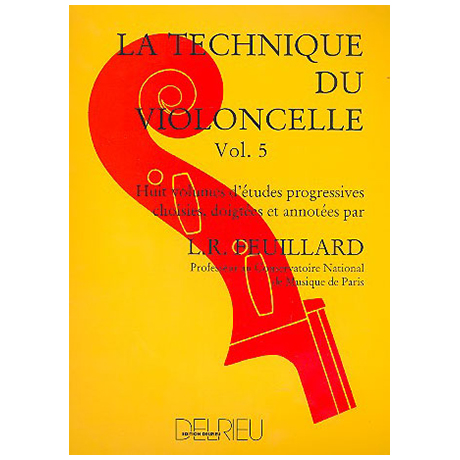 Feuillard: La technique du violoncelliste Band 5