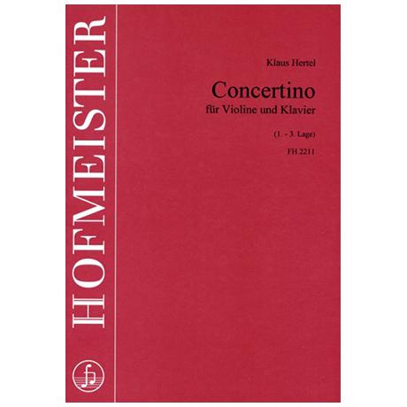 Hertel, K.: Concertino