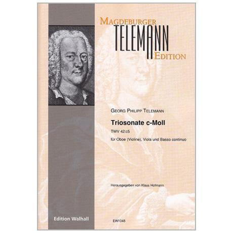 Telemann, G. Ph.: Triosonate TWV 42:c5 c-Moll