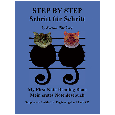 Wartberg, K.: Schritt für Schritt – Mein 1. Notenlesebuch (+CD)