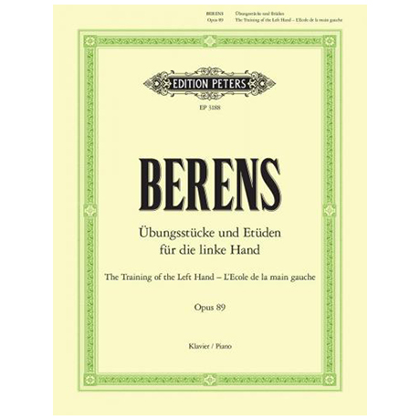 Berens: Pflege der linken Hand op. 89