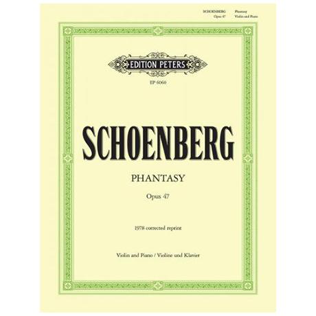 Schönberg, A.: Fantasie