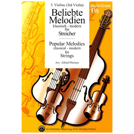 Beliebte Melodien: klassisch bis modern Band 2 – Violine 3