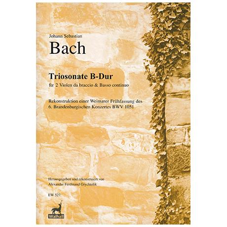 Bach, J.S.: Violasonate B-Dur