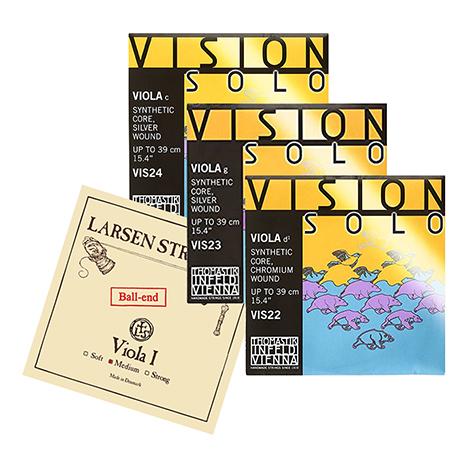 Larsen A + Vision Solo D-G-C SATZ