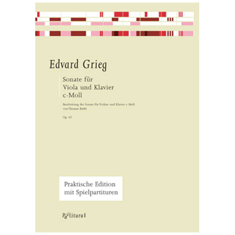 Grieg, E.: Violasonate Op. 45 c-Moll