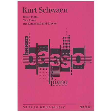 Schwaen, K.: Basso-Piano