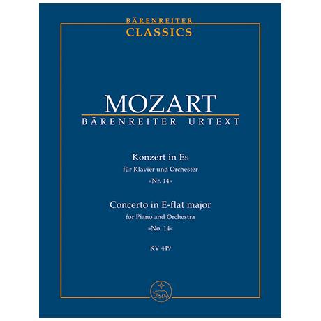 Mozart, W. A.: Klavierkonzert Nr. 14 Es-Dur KV 449 – Konzert für Klavier und Orchester