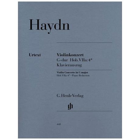 Haydn, J.: Violinkonzert G-Dur, Hob. VIIa:4