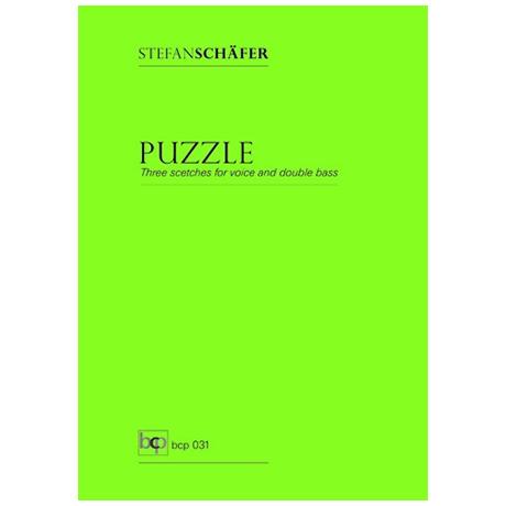 Schäfer, S.: Puzzle – Three scetches