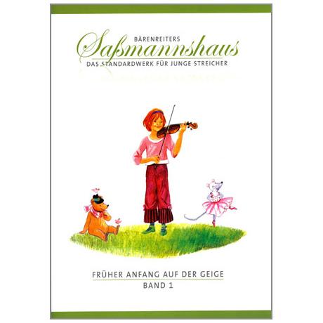 Sassmannshaus, E.: Früher Anfang auf der Geige Band 1