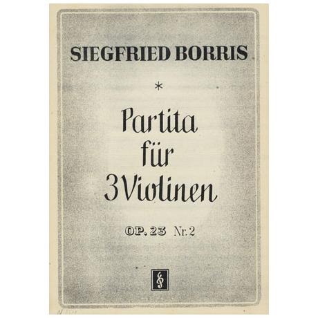 Borris, S.: Partita Op.23