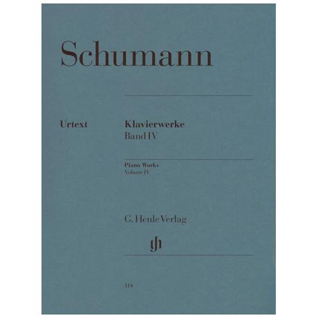 Schumann, R.: Paganini-Etüden Op. 3 und Op. 10