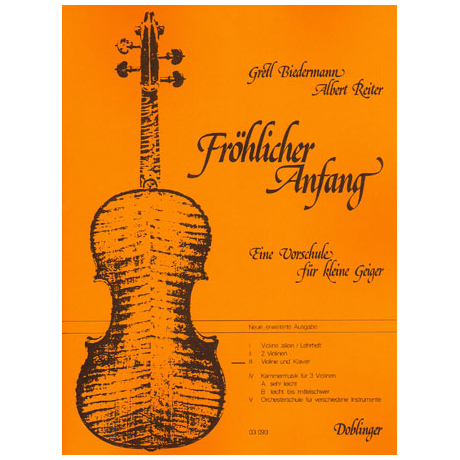 Fröhlicher Anfang – Band 3
