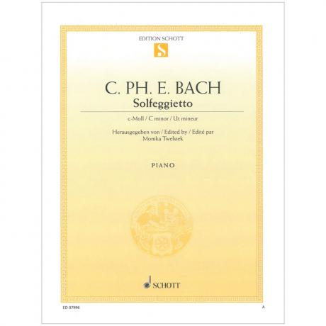 Bach, C. Ph. E.: Solfeggietto Wq 117/2 c-Moll