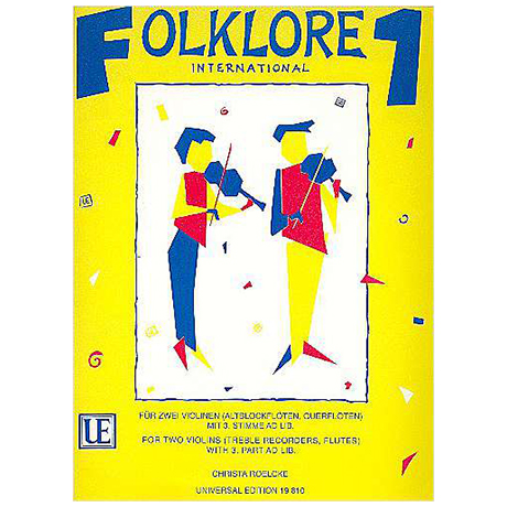 Folklore international Band 1