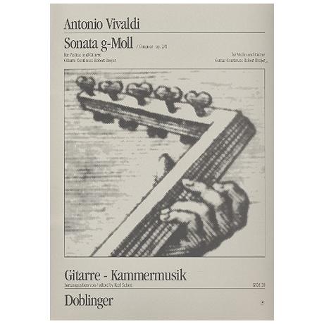 Vivaldi, A.: Sonata g-moll Op.2/1