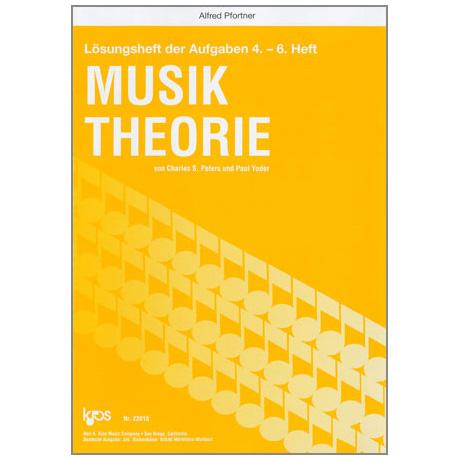 Peters / Yoder: Lösungsheft zur Musiktheorie Band 2 für Heft 4-6