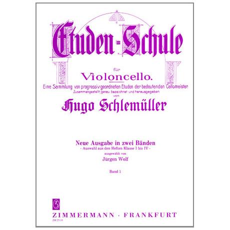 Schlemüller, H.: Etüden Schule Band 1