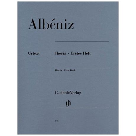 Albéniz, I.: Iberia Erstes Heft