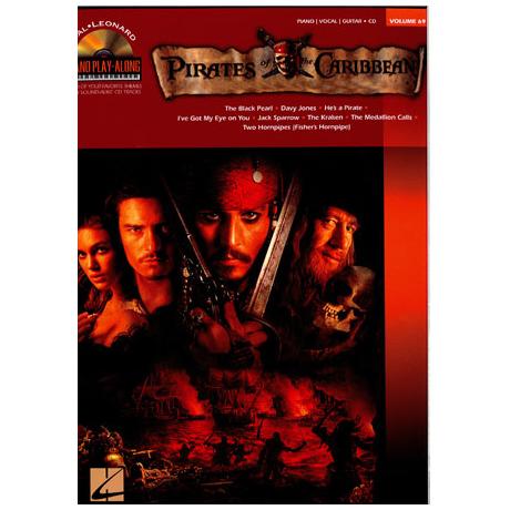 Piano Play-Along Vol. 69: Pirates of the Caribbean (+CD)