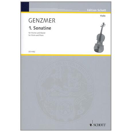 Genzmer, H.: Violinsonatine Nr. 1 GeWV 225