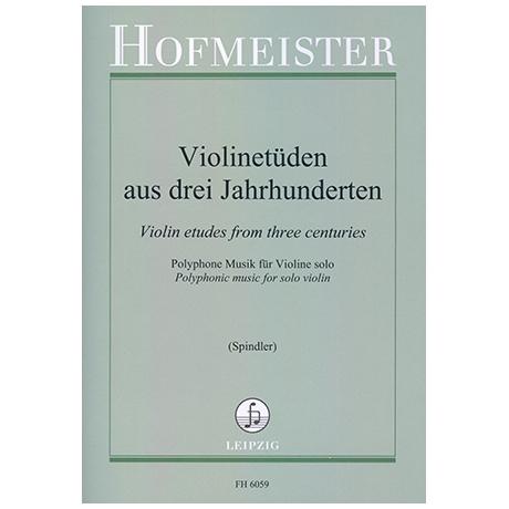 Violinetüden aus drei Jahrhunderten